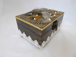 Art Deco Jewelry Box – Side View