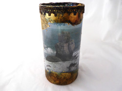 Glass lantern - Seascape