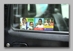 Parliament Election youth sticker
