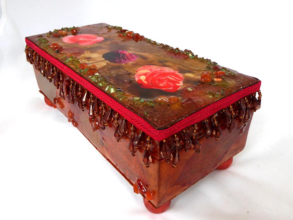 Flower Jewelry Box – Side View