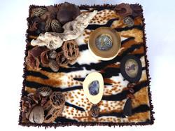 African Safari Jewelry Box – Top