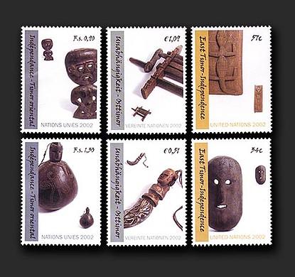 Timor-Leste Independence commemorative stamp set & medal