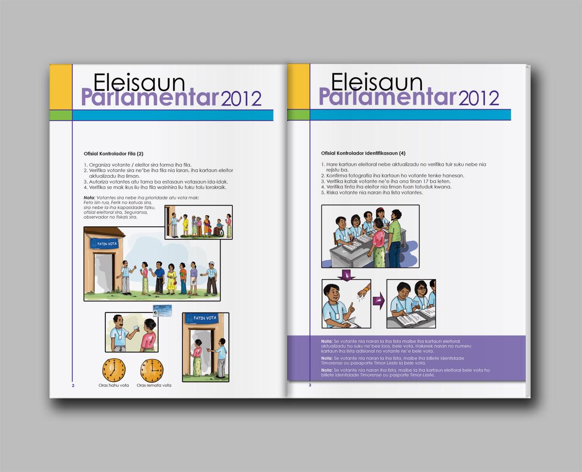 Timor-Leste Electoral staff polling manual