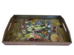 fish koi serving tray