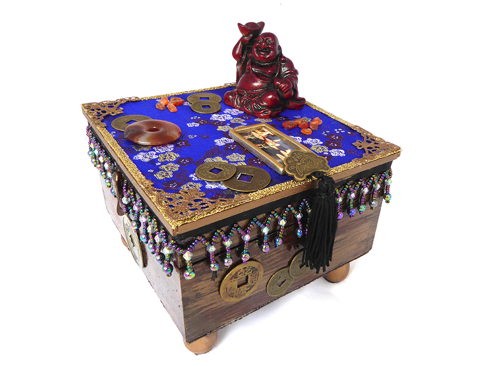 Buddha Meditation Jewelry Box – Side