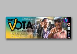 Presidential Election vote sticker