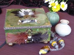 Dove Jewelry Box – in setting