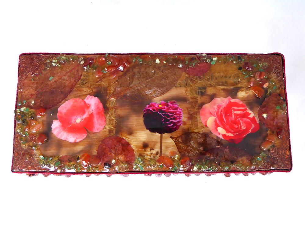 Flower Jewelry Box – Top View