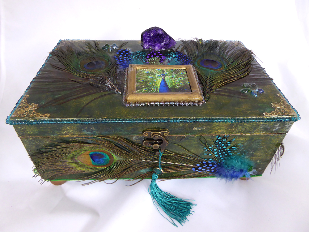 Peacock Jewelry Box