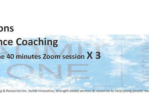 3 Resilience Coaching Sessions