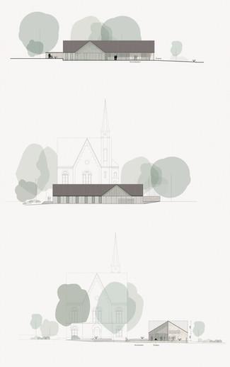 Wettbewerb  – Gemeindezentrum Evangelische Kirche Vöcklabruck