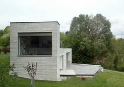 Haus mit BETONSCHALE