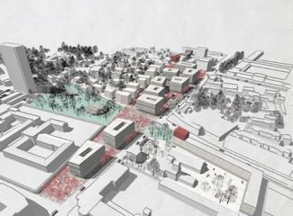 6. Platz, Wettbewerb – Lokalbahnhof-Areal, Wels