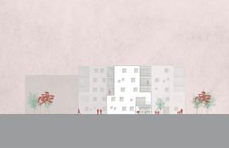 2. Platz, Wettbewerb, Wohnbau LIEBIGSTRASSE