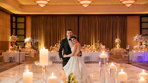 Intimate at home Wedding to Timeless Romantic at Mandarin Oriental Veronica + Vincent Say I Do