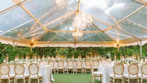 Kevin + Katie's Romantic Garden Wedding at Villa Woodbine