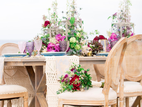 Beach Chic Wedding Style Shoot