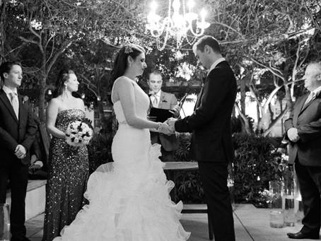 Amanda + Lloyd's Four Seasons Wedding