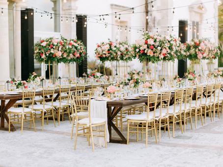 Lush and Blush Intimate Vizcaya Wedding