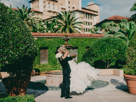 Glamorous Black & White Wedding at Coral Gables Country Club