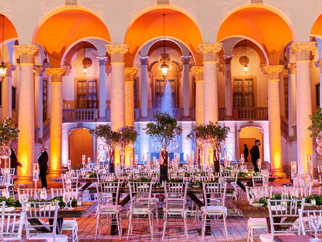 Gabriella + Warren Garden Biltmore Wedding