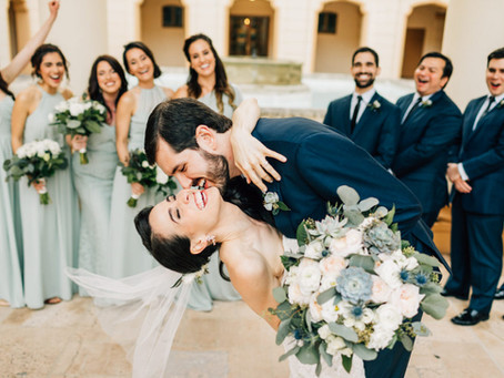 Julia + Randall's Biltmore Hotel Wedding