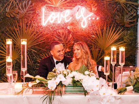 Tropical Wedding at The Mondrian South Beach