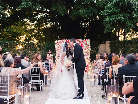 Josy + Bryan's Pink Kissed Wedding at Coral Gables Country Club