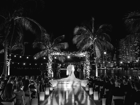 Starry Night Wedding at The Mandarin Oriental Miami