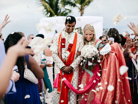 Oceanfront Indian Fusion Wedding