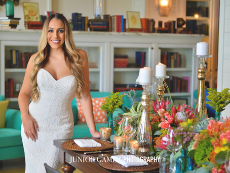 Tropical Chic Style Shoot at The Confidante