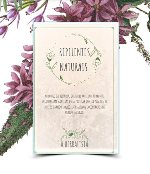 Folder Livro Repelentes Naturais