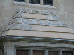 Stone replacements to Historic building