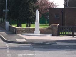 New War Memorial supplied