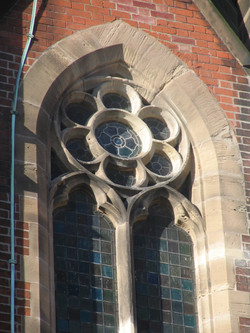 Church window stone replacements