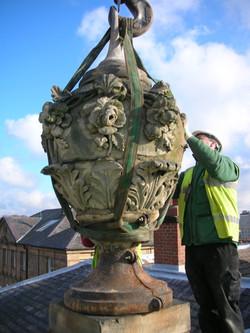 Stone Urn restoration
