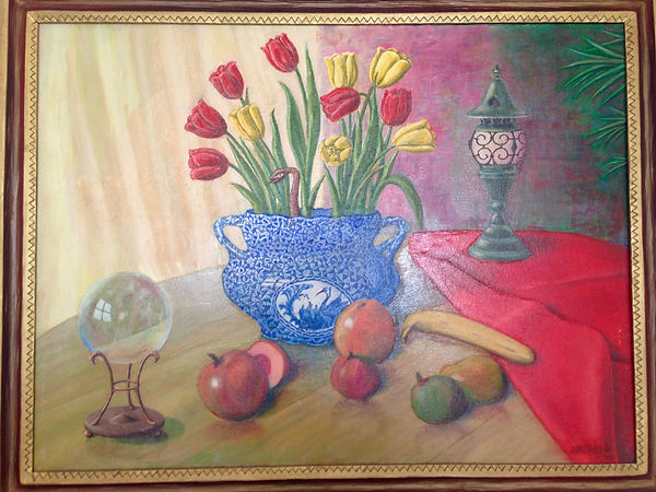 Nick Petrov Still Life with Surprise