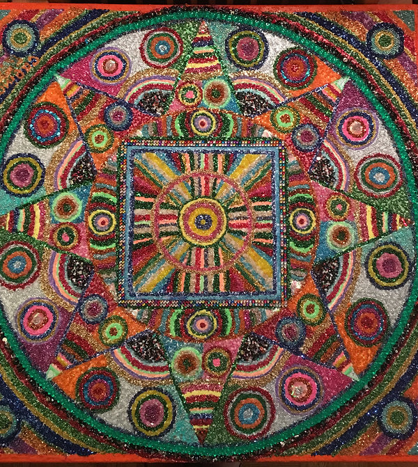 Galina Petrov Mind and Heart Mandala