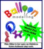 Balloon Modelling