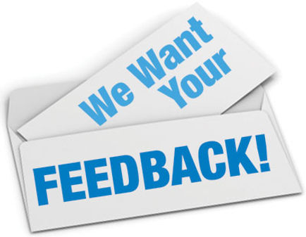 Let us know how we did by leaving us your feedback.
