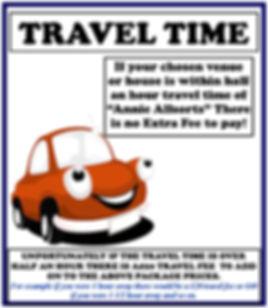 Travel Time Fee