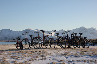 sykkel i lofoten