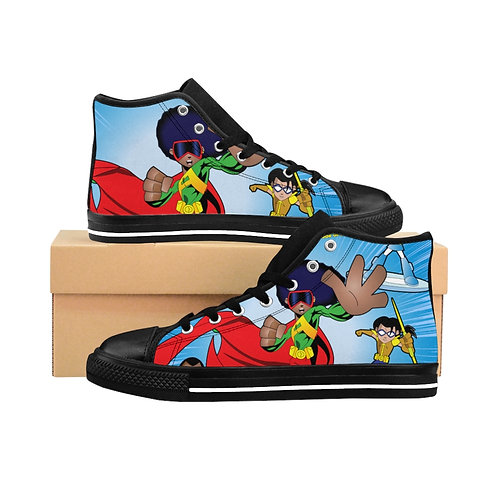 AFRO-MAN Men's High-top Sneakers