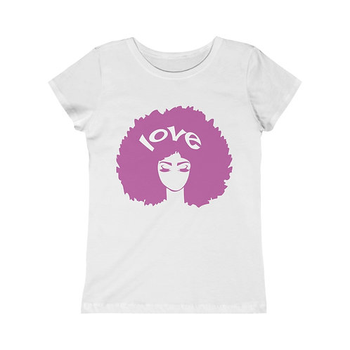 Afro Love Girls Princess Tee
