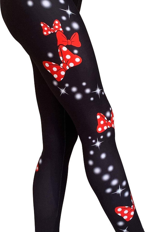 Mini Star Bows Leggings - New Improved! Fit, Stretch & Softness