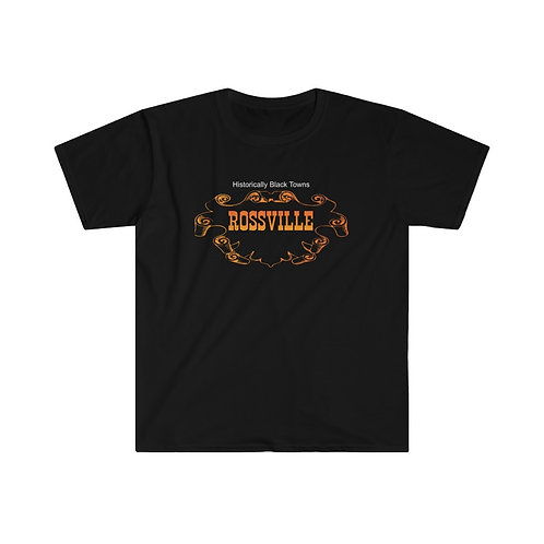 Historical Black Towns Rossville Men's Fitted Short Sleeve Tee