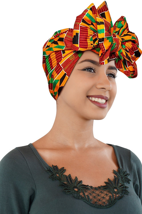"""ONE DAY SALE KENTE Cloth Extra Long 72""""×22"""" Headwrap"""