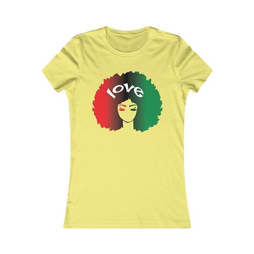 Afro Love Women's Favorite Tee