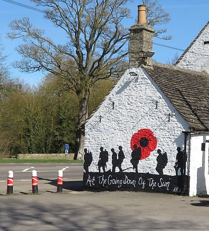 Lest We Forget mural