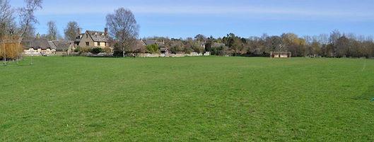 View across Wash Meadow